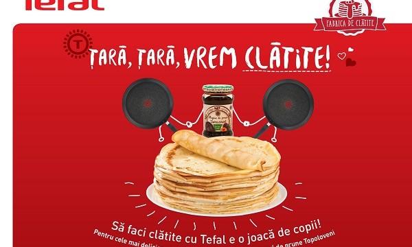 Fabrica de Clatite Tefal – Tara, tara vrem clatite!