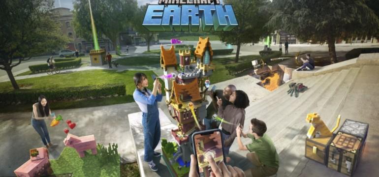 Minecraft Earth, noul joc pe mobil de AR, este disponibil odată cu celebrarea a 10 ani de Minecraft