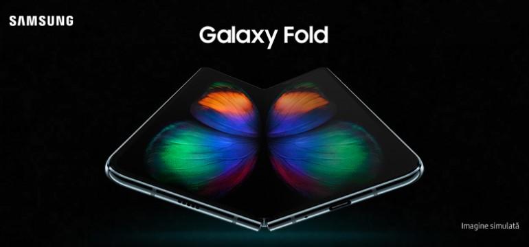 Samsung lansează Galaxy Fold în premieră în România